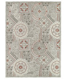 RugStudio presents Kaleen Brooklyn 5302-73 Pewter Hand-Tufted, Good Quality Area Rug