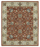 RugStudio presents Kaleen Brooklyn 5305-06 Brick Hand-Tufted, Good Quality Area Rug