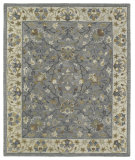 RugStudio presents Kaleen Brooklyn 5305-73 Pewter Hand-Tufted, Good Quality Area Rug