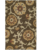 RugStudio presents Kaleen Carriage Cornish Brown 49 Hand-Tufted, Good Quality Area Rug