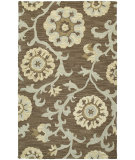 RugStudio presents Kaleen Carriage Cornish Graphite 68 Hand-Tufted, Good Quality Area Rug