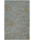 RugStudio presents Kaleen Carriage City Park Azure 66 Hand-Tufted, Good Quality Area Rug