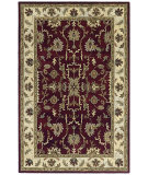 RugStudio presents Kaleen Presidential Picks Dyches Burgundy 6306-04 Hand-Tufted, Best Quality Area Rug
