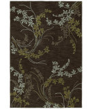 RugStudio presents Kaleen Inspire 6406 Vision Chocolate 40 Hand-Tufted, Good Quality Area Rug