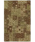 RugStudio presents Kaleen Khazana Patchwork 6553 Chocolate 40 Hand-Tufted, Good Quality Area Rug