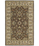 RugStudio presents Kaleen Khazana 6561-40 Chocolate Hand-Tufted, Good Quality Area Rug