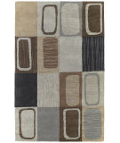 RugStudio presents Kaleen Khazana 6565-38 Charcoal Hand-Tufted, Good Quality Area Rug