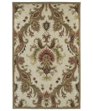 RugStudio presents Kaleen Khazana Nassau 6583 Linen 42 Hand-Tufted, Better Quality Area Rug
