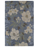 RugStudio presents Kaleen Khazana 6591-66 Azure Hand-Tufted, Good Quality Area Rug