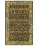 RugStudio presents Kaleen Kanha Mandika 6606 Pesto 45 Hand-Tufted, Good Quality Area Rug