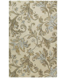 RugStudio presents Kaleen Calais Floral Waterfall Ivory 7507-01 Area Rug