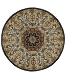 RugStudio presents Kaleen Tara Rounds Henri Black 7702-02 Hand-Tufted, Good Quality Area Rug