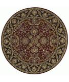 RugStudio presents Kaleen Tara Rounds Auguste Burgundy 7704-04 Hand-Tufted, Good Quality Area Rug