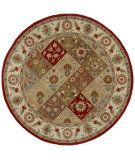 RugStudio presents Kaleen Tara Rounds Luca Paprika 7708-53 Hand-Tufted, Good Quality Area Rug