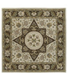 RugStudio presents Kaleen Tara Squares Southern Star Linen 7802-42 Hand-Tufted, Good Quality Area Rug