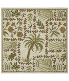 RugStudio presents Kaleen Tara Squares Lanai Ivory 7806-01 Hand-Tufted, Good Quality Area Rug