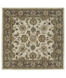 RugStudio presents Kaleen Tara Squares Bermuda Linen 7807-42 Hand-Tufted, Good Quality Area Rug