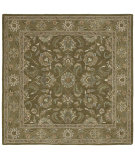 RugStudio presents Kaleen Tara Squares Bermuda Pesto 7807-45 Hand-Tufted, Good Quality Area Rug