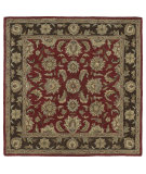 RugStudio presents Kaleen Tara Squares Bermuda Salsa 7807-57 Hand-Tufted, Good Quality Area Rug