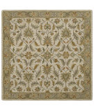 RugStudio presents Kaleen Tara Squares St. Vincent Ivory 7808-01 Hand-Tufted, Good Quality Area Rug
