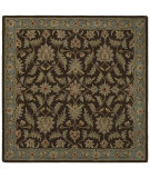 RugStudio presents Kaleen Tara Squares St. Vincent Chocolate 7808-40 Hand-Tufted, Good Quality Area Rug