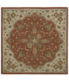 RugStudio presents Kaleen Tara Squares Azores Cinnamon 7810-55 Hand-Tufted, Good Quality Area Rug