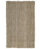RugStudio presents Kaleen Essential 8504-44 Natural Sisal/Seagrass/Jute Area Rug