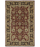 RugStudio presents Kaleen Heirloom Deborah Burgundy 8803 Hand-Tufted, Best Quality Area Rug