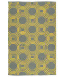 RugStudio presents Kaleen Brisa Bri06-28a Yellow Flat-Woven Area Rug