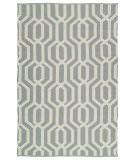 RugStudio presents Kaleen Brisa Bri08-75a Grey Flat-Woven Area Rug