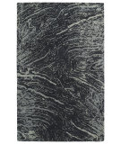RugStudio presents Kaleen Brushstrokes Brs01-38 Charcoal Hand-Tufted, Good Quality Area Rug
