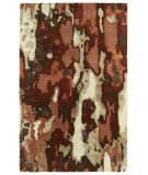 RugStudio presents Kaleen Brushstrokes Brs05-30 Rust Hand-Tufted, Good Quality Area Rug