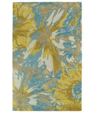 RugStudio presents Kaleen Brushstrokes Brs06-05 Gold Hand-Tufted, Good Quality Area Rug