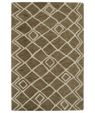 RugStudio presents Kaleen Casablanca Cas04-49 Brown Hand-Tufted, Good Quality Area Rug