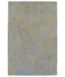 RugStudio presents Kaleen Casablanca Cas06-79 Light Blue Hand-Tufted, Good Quality Area Rug