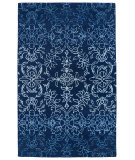 RugStudio presents Kaleen Divine Div01-17 Blue Hand-Tufted, Good Quality Area Rug