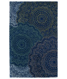 RugStudio presents Kaleen Divine Div03-22 Navy Hand-Tufted, Good Quality Area Rug