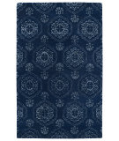 RugStudio presents Kaleen Divine Div07-22 Navy Hand-Tufted, Good Quality Area Rug