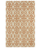 RugStudio presents Kaleen Evolution Evl01-89 Orange Hand-Tufted, Good Quality Area Rug