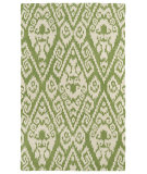 RugStudio presents Kaleen Evolution Evl02-50 Green Hand-Tufted, Good Quality Area Rug