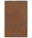 RugStudio presents Rugstudio Sample Sale 105795R Orange Hand-Tufted, Good Quality Area Rug