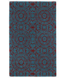 RugStudio presents Kaleen Evolution Evl03-94 Peacock Hand-Tufted, Good Quality Area Rug