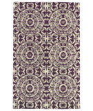RugStudio presents Kaleen Evolution Evl03-95 Purple Hand-Tufted, Good Quality Area Rug