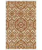 RugStudio presents Kaleen Evolution Evl04-89 Orange Hand-Tufted, Good Quality Area Rug