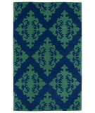 RugStudio presents Kaleen Evolution Evl05-22 Navy Hand-Tufted, Good Quality Area Rug