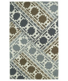 RugStudio presents Kaleen Glam Gla02-49 Brown Flat-Woven Area Rug