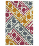 RugStudio presents Kaleen Glam Gla02-86 Multi Flat-Woven Area Rug