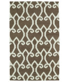 RugStudio presents Kaleen Glam Gla05-49 Brown Flat-Woven Area Rug