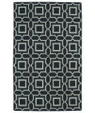 RugStudio presents Kaleen Glam Gla06-38 Charcoal Flat-Woven Area Rug