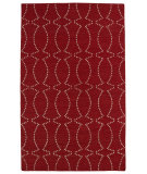 RugStudio presents Kaleen Glam Gla07-25 Red Flat-Woven Area Rug